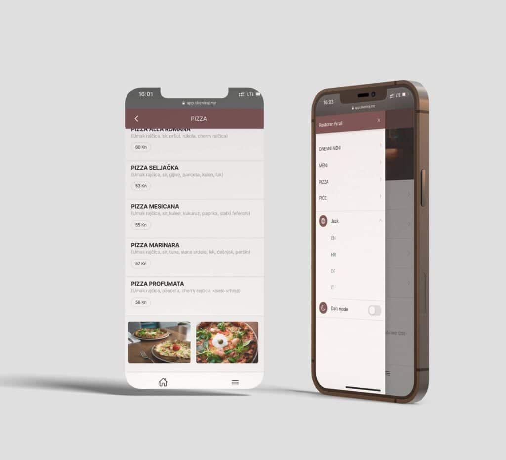 Restoran Ferali QR rješenje